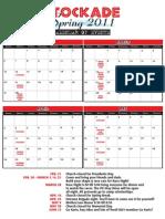 Stockade Spring Calendar