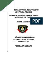 Silabo Documentacion Policial