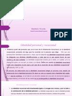10-Unidad 2 a) Identidad  Vocacional y ocupacional