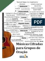 1- Caderno de Cifras GRUPOS DE ORAÇÃO