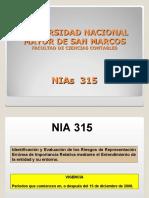 26.- NIA 315