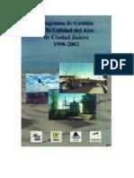 estudio calidad del aire ciudad Juarez