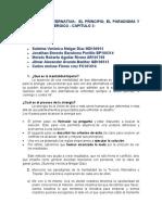 Cap 2-  LA TERCERA ALTERNATIVA EL PRINCIPIO, EL PARADIGMA Y EL PROCESO SINERGICO