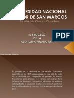 4.- Proceso de la Auditoría Financiera