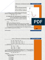 Interpolacion cuadratica por