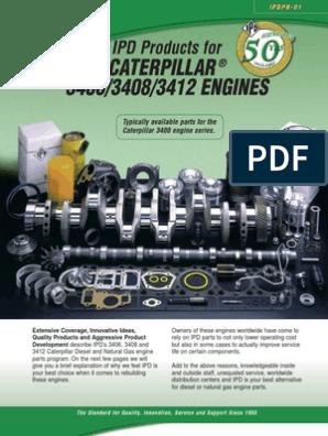 cat_3400   Piston   Fuel Injection