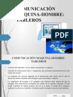 COMUNICACIÓN MÁQUINA-HOMBRE TABLEROS