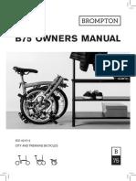 Brompton - Owners Manual B75
