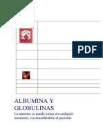 ALBUMINA Y GLOBULINAS
