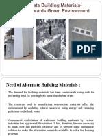 Alternate Building Material.pptx