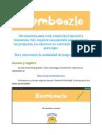 TUTORIAL BAAMBOOZLE