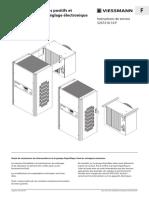 Groupes frigorifiques positifs et négatifs CS et FS à réglage électronique