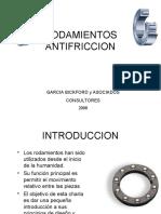 Cojinetes antifriccion