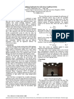 A Study on Lighting Uniformity for LED Smart Lighting System