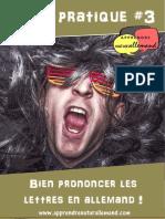 Fiche pratique #3 - Prononciation