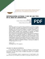 METODOLOGÍAS ACTIVAS Y USO DE LAS TICS