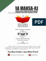 BARRA MANSA-RJ 2020 - AUXILIAR DE SERVIÇOS GERAIS, ARMADOR, RECEPCIONISTA E ETEC