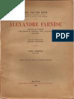 Alexandre Farnèse, Vol. I (1545-1578)