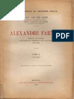 Alexandre Farnèse, Vol. II (1578-1582)