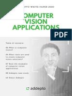 Computer Vision White Paper 2020