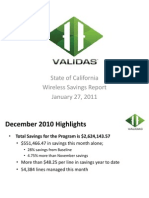 State of California Wireless Savings Report