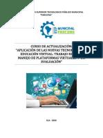 CRONOGRAMA Y CERTIFICACIÓN DEL CURSO FINALIZADO
