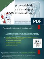 Căile și metodele de realizare a strategiei OMS