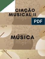 Iniciação Musical II
