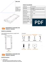 Mi R1 Walking Pad Product Manual