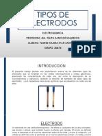 ACTVIDAD 2.1 TIPOS DE ELECTRODOS