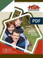 HSA Home Warranty Brochure
