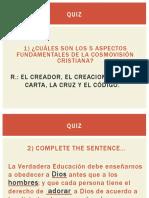 Lección 8 - Educación y Redención