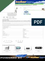 Medidor Bidireccional Monofasico LY-SM100 _ Solartex Colombia