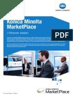 Konica Minolta MarketPlace Broschüre