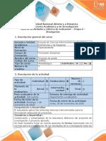Guía de actividades y rúbrica de evaluación - Etapa 3 - Divulgación