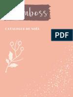 Catalogue de Noël des momboss partie 1