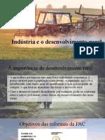 As potencialidades da indústria no desenvolvimento rural