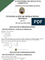 Sesion 12 (Método Simplex - Problemas de Minimizacion) - Investigación de Operaciones.pptx