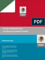 Manual Guía de señalización para las oficinas del Gobierno