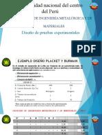 EJEMPLO DISEÑO PLACKET Y BURMAN
