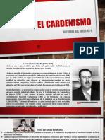 EL CARDENISMO F