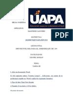 TAREA III HILDA, INFIOTECNOLOGIA