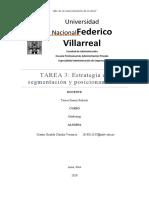 TAREA3 - Estrategia de segmentación y posicionamiento