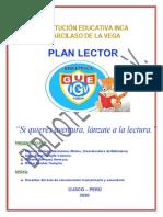 PLAN DE MEJORA  BIBLIOTECA PRIMARIA Y SECUNDARIA 2020 - PLAN LECTOR
