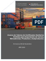 SENACSA-Informe Exportacion Importacion 2020 11