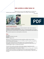 Artículo - Riesgo redes sociales (El periódico 19012011)