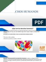 DERECHOS HUMANOS, presentación