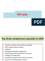 compétences clés les TOP 10