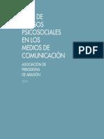 Guía de Riesgos Psicosociales en Los Medios de Comunicación
