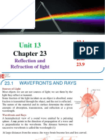 UNIT 13-PHY 131-Chapter 23-Reflection and Refraction(5)